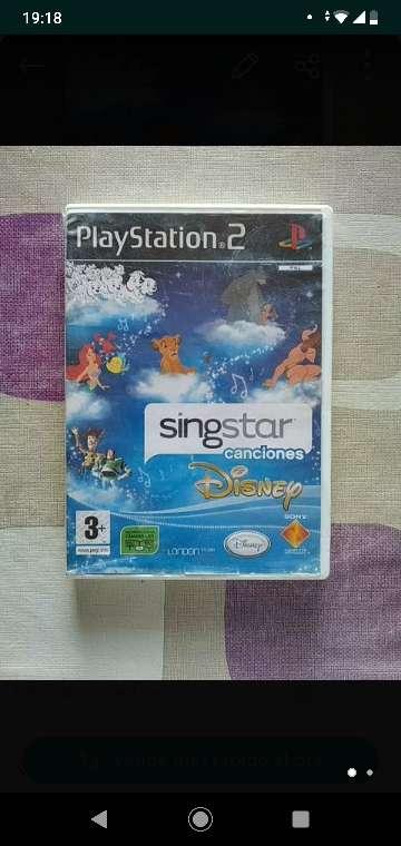 Imagen producto Juegos SingStar 2