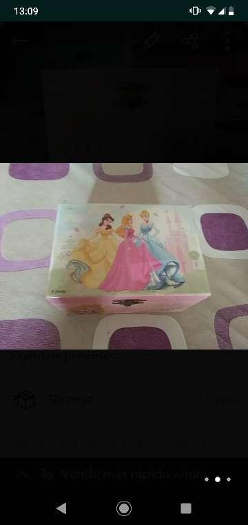 Imagen producto Joyero Disney con música  3