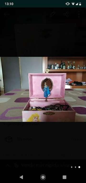 Imagen Joyero Disney con música