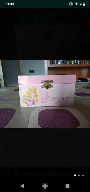 Imagen producto Joyero Disney con música  2