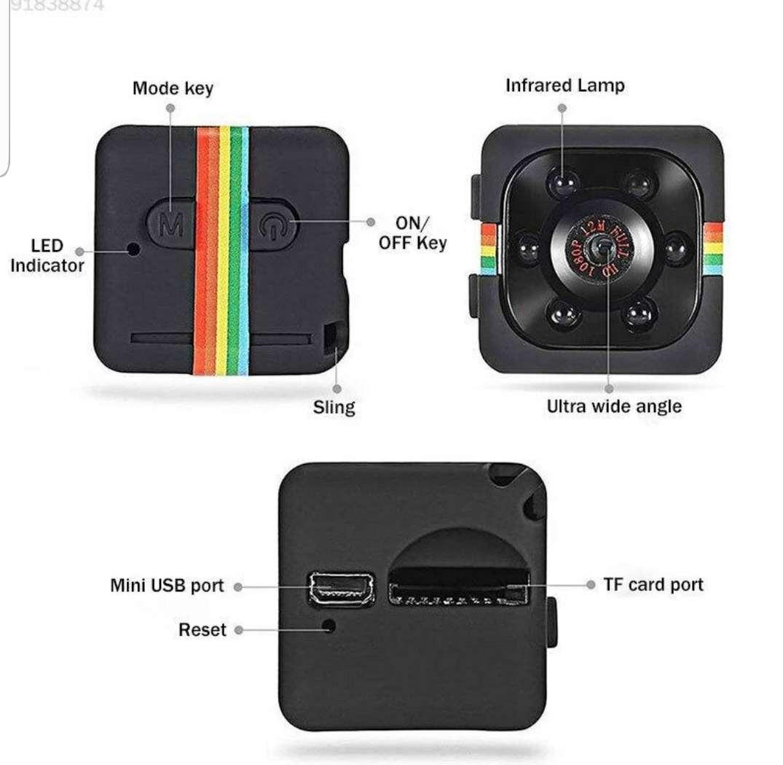 Imagen producto Mini cámara espía por 20€ nueva 5