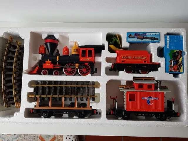 Imagen producto Tren antiguo Playmobil 2