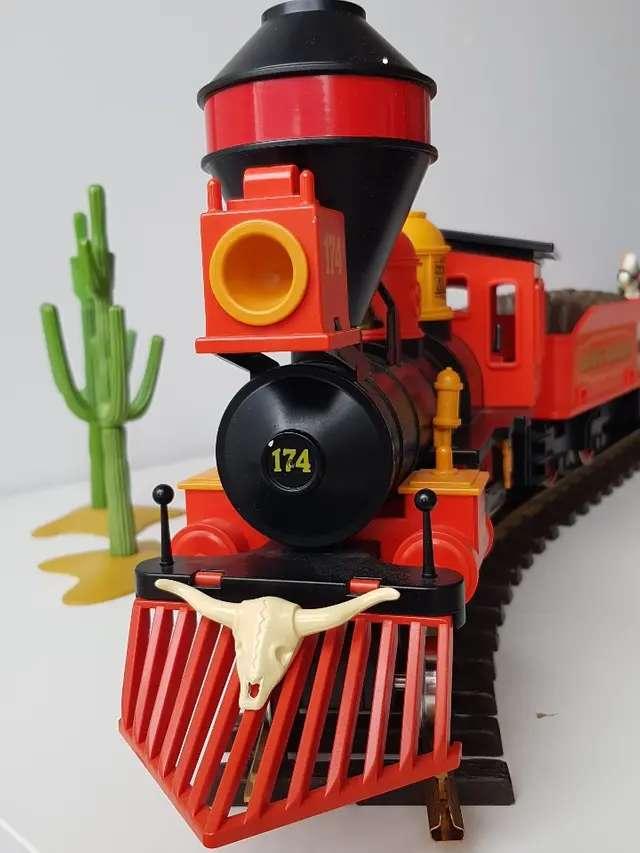 Imagen producto Tren antiguo Playmobil 3