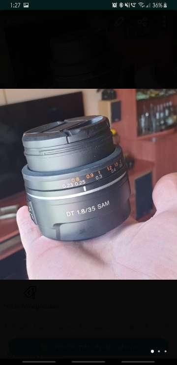 Imagen producto Cámara réflex Sony A68 (Alpha68) con 2 objetivos 7