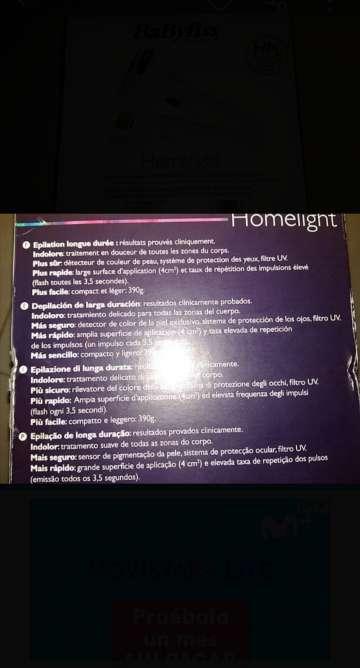 Imagen producto Depiladora luz pulsada 3