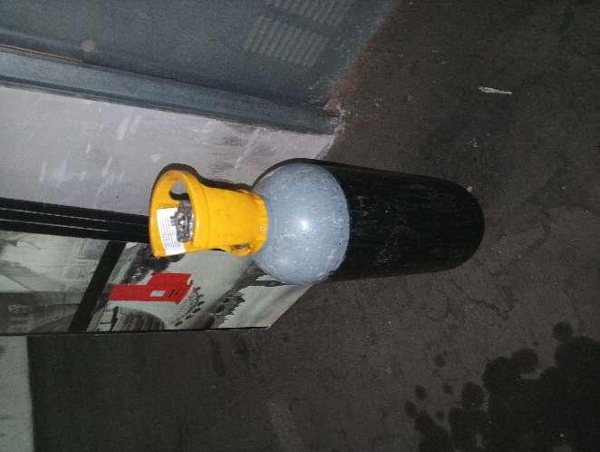 Imagen botella gas carbonico