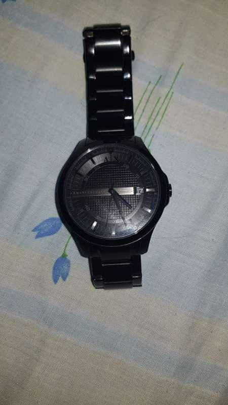Imagen reloj original armani