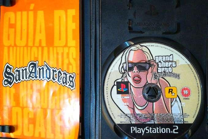 Imagen producto Grand Theft Auto San Andreas original para ps2. 2