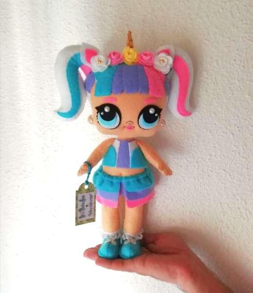 Imagen producto Lol unicornio de 30cm  3
