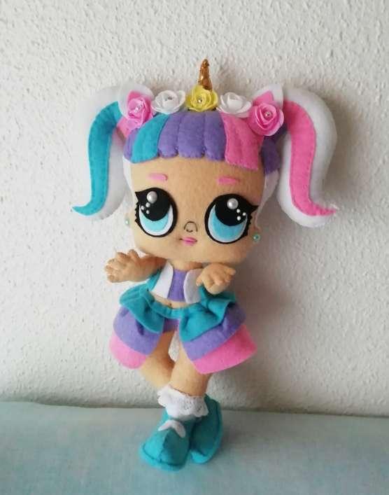 Imagen producto Lol unicornio de 30cm  2