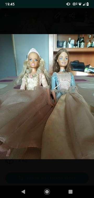 Imagen Muñecas Barbie princesa y costurera