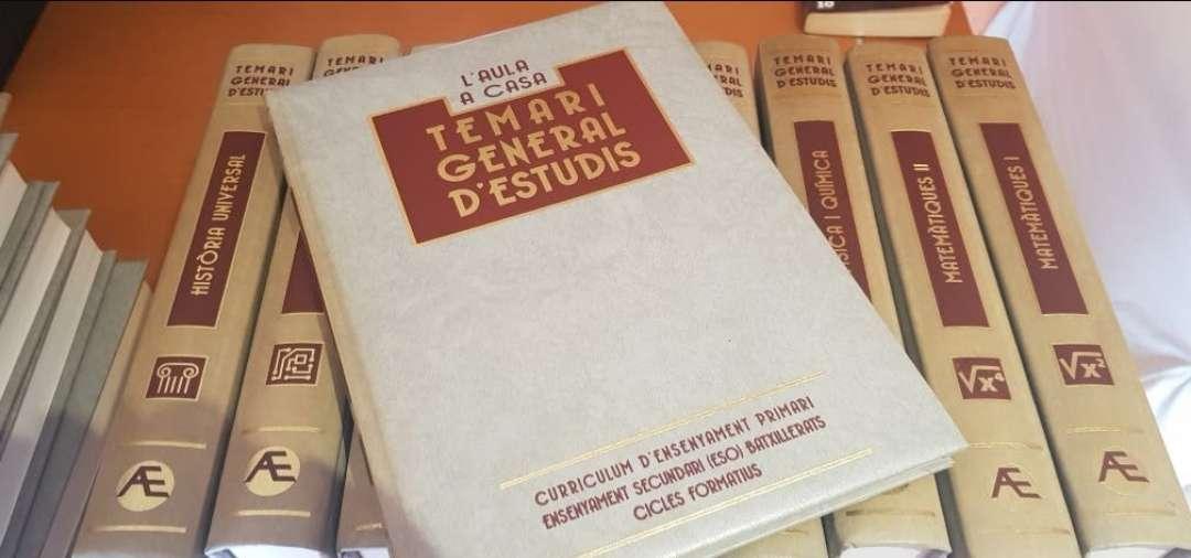 Imagen producto Temario general del estudio en catalan 1