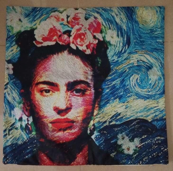 Imagen producto Funda cojin arte Van Gogh Noche Estrellada 3