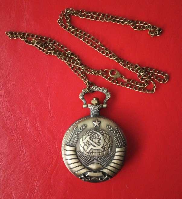 Imagen producto Reloj de bolsillo colgante CCCP URSS 4
