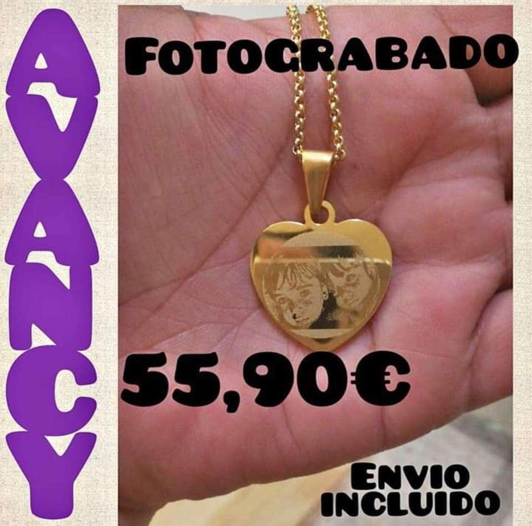 Imagen Fotograbado chapado de oro