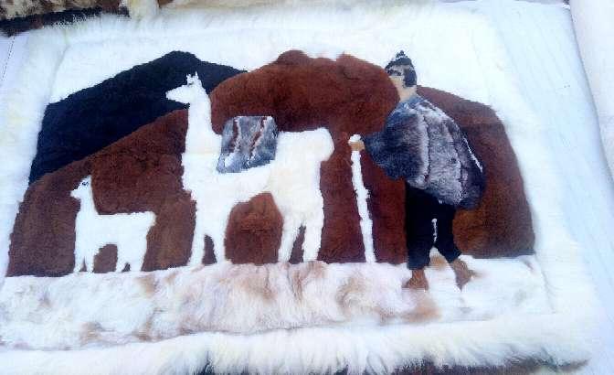 Imagen producto Alfombras Pura Alpaca100% Peruana. 3
