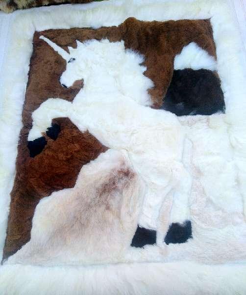 Imagen producto Alfombras Pura Alpaca100% Peruana. 2