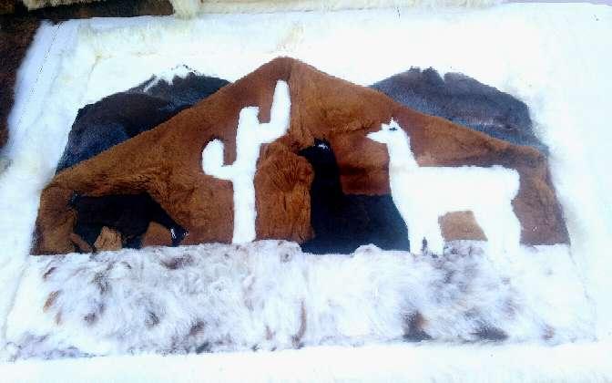 Imagen producto Alfombras Pura Alpaca100% Peruana. 5