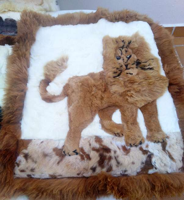 Imagen producto Alfombras Pura Alpaca100% Peruana. 7