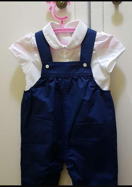 Imagen Conjunto ceremonia bebe niño 3 a 6 meses del Corte inglés