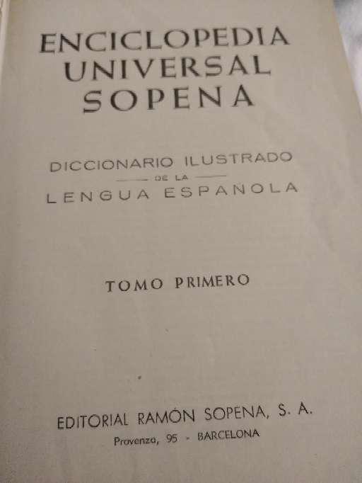Imagen producto Enciclopedia Sopena 1964 6
