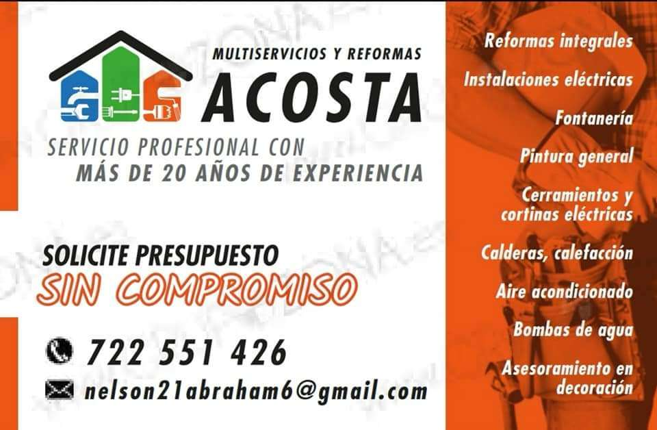 Imagen producto Acostareformas.es  4