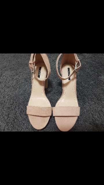 Imagen zapatos tacón rosa palo