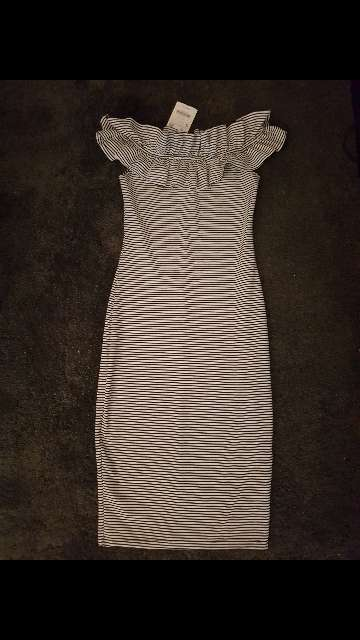 Imagen vestido rayas