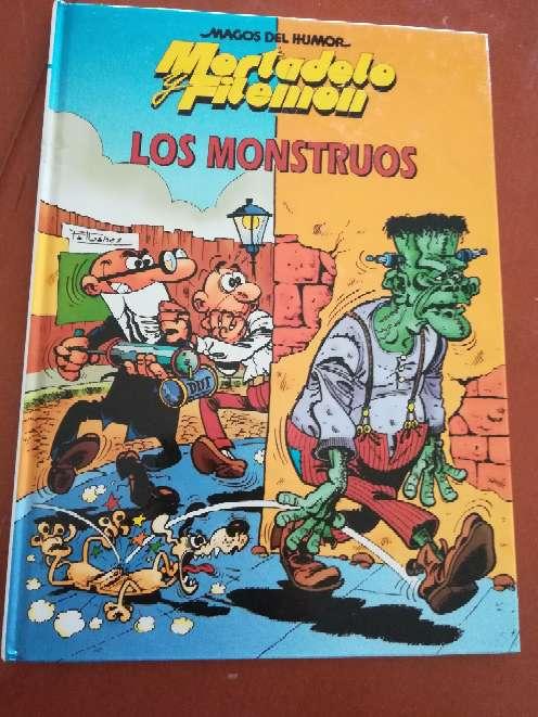 Imagen Cómic Los Monstruos