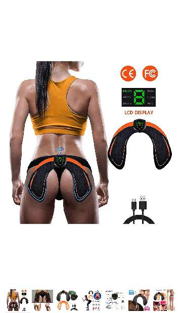 Imagen Electroestimulador muscular GLUTEOS