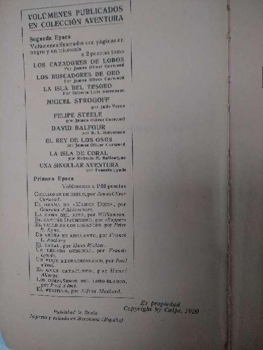 Imagen producto Libro de 1920 2