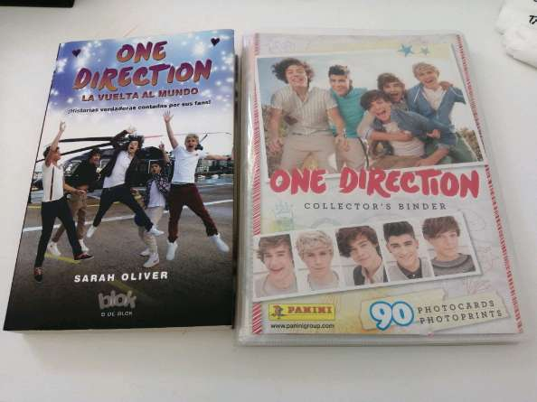 Imagen Libro y colección de fotos de One Direction