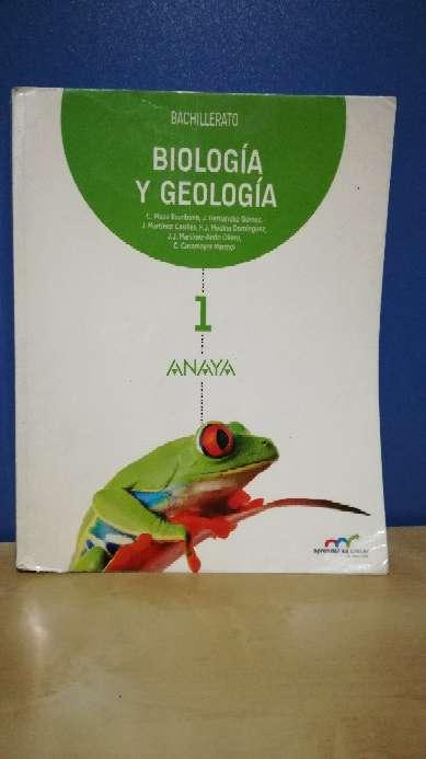Imagen Libro 1ºBach biología anaya