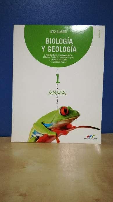 Imagen producto Libro 1ºBach biología anaya 4
