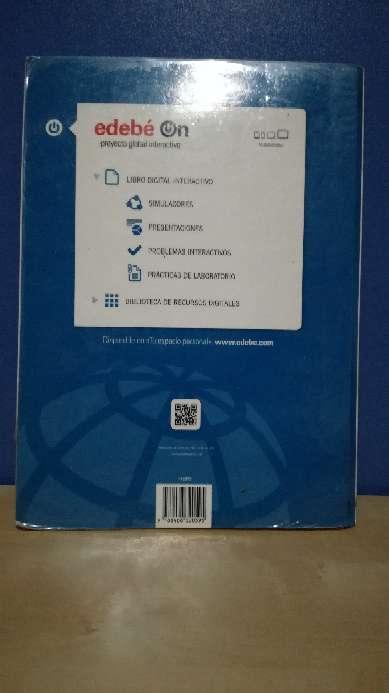 Imagen producto Libro 1ºBach física y química edebé 2