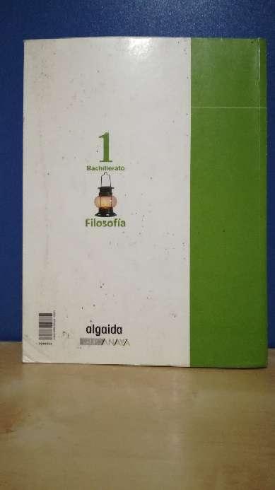 Imagen producto Libro 1ºBach filosofía algaida 2