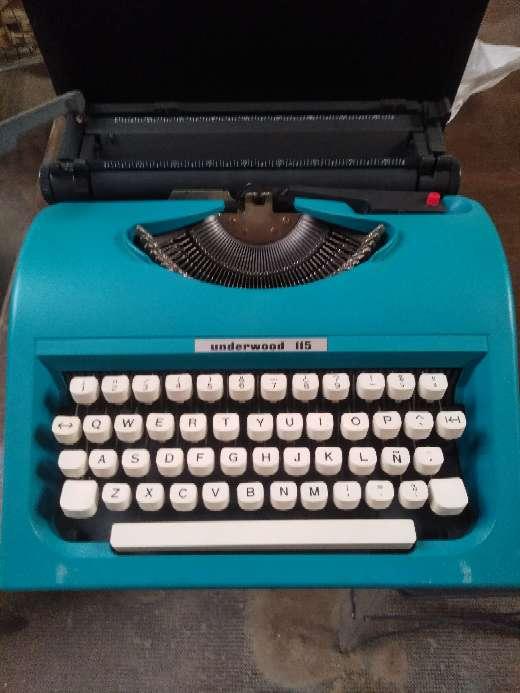 Imagen màquina escrivir