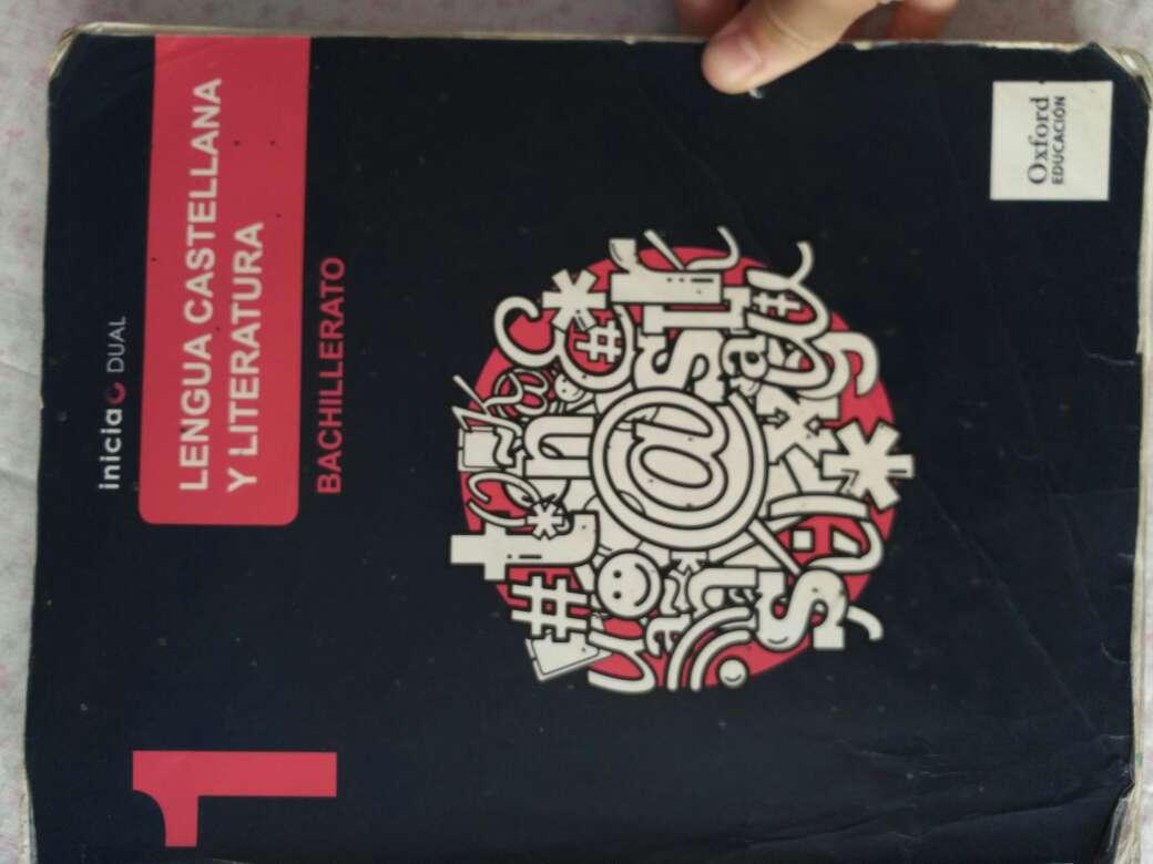 Imagen Vendo libro lengua castellana y literatura 1° bachillerato