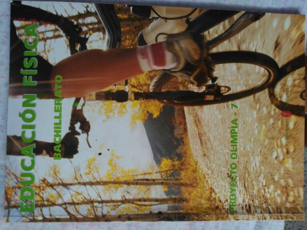 Imagen vendo libro educación física 1°bachillerato