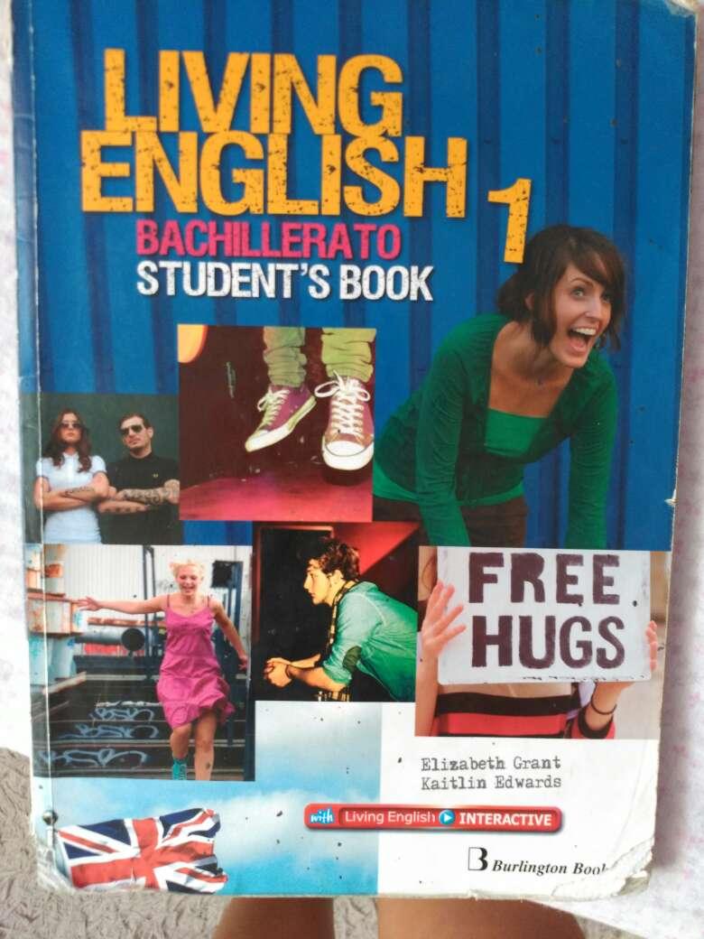 Imagen producto Vendo libro living english 1° bachillerato  1