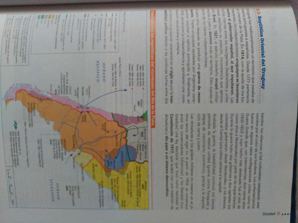 Imagen producto Vendo libro historia del mundo contemporáneo 1° bachiller 4