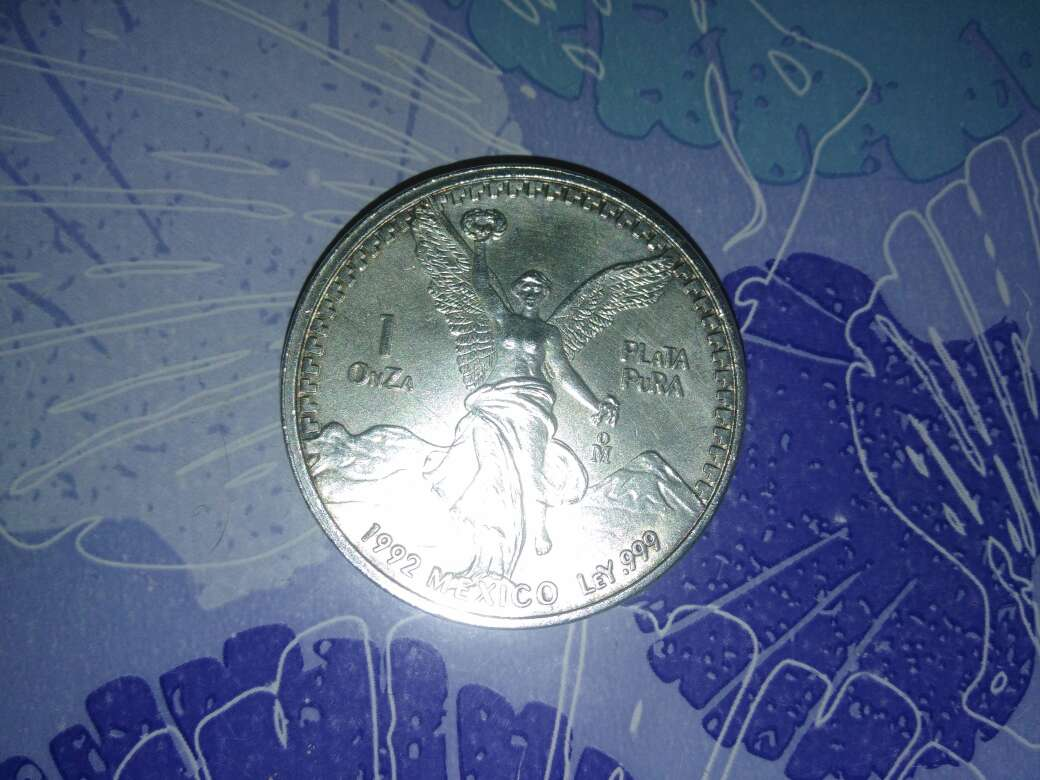 Imagen producto Onza plata México 2