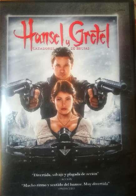 Imagen Hansel y Gretel DVD original