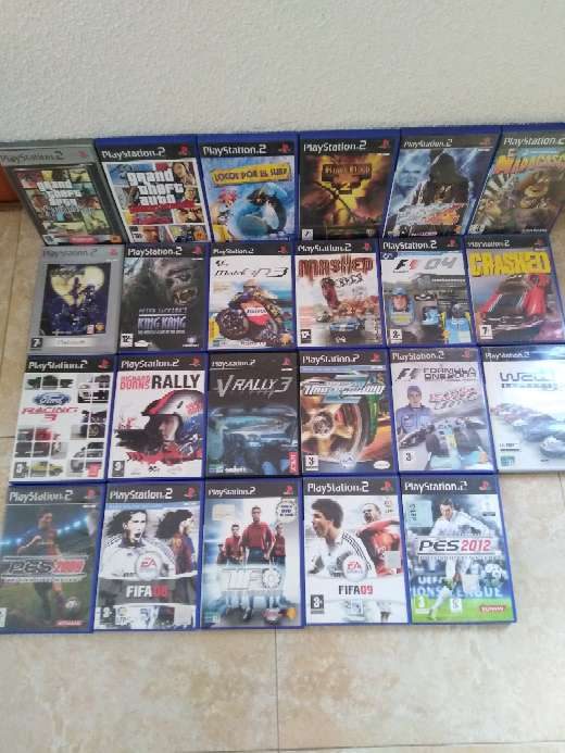 Imagen Vendo juegos de la PlayStation 2