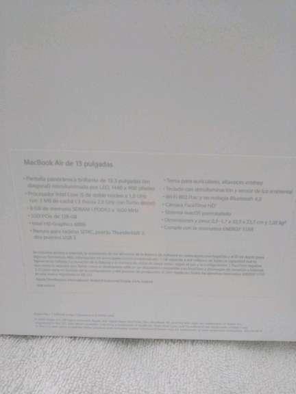 Imagen producto MacBook air 13 pulgadas  6