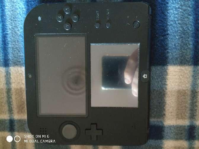 Imagen producto Nintendo 2ds con más de 10 juegos funda y cargador 4