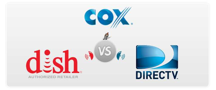 Imagen cox internet, Direct tv, Dish services and cables