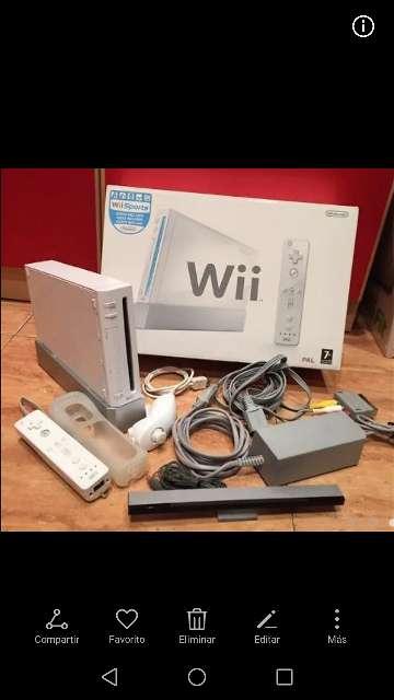 Imagen Wii con todos los accesorios, poco uso