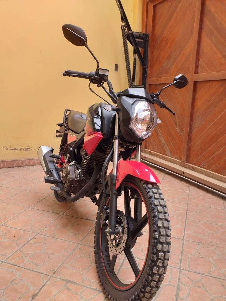 Imagen producto Se vende moto marca Ronco modelo pantro año 2019 2