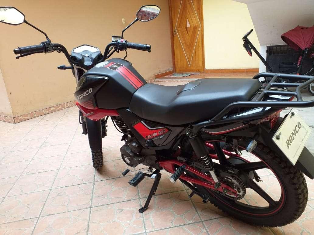 Imagen producto Se vende moto marca Ronco modelo pantro año 2019 4